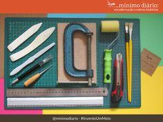 Se interessa por encadernação? Preparamos uma lista com os materiais para a encadernação artesanal. Agora é só começar. #InventeUmMeio