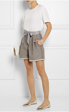 Light Taupe Shorts