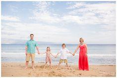 Maui Family Portraits, Karma Hill Photography, Maui Beach Portraits, Maui Vacation Portraits