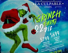 "Check out new work on my @Behance portfolio: ""FLYER GRINCH PARTY"" http://be.net/gallery/46602967/FLYER-GRINCH-PARTY"