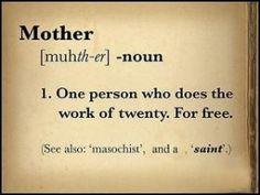 La real definición de una #mama