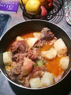 Turkey and potato Stew!