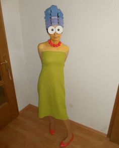 Homemade Marge Simpson Costumes