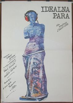 A Perfect Couple - US 1978 film by Robert Altman. Original Polish 1980 poster by Andrzej Pagowski. Comedy. Musical. Romance. Wall art.