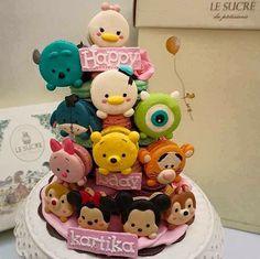 "This is SO CUTE! TsumTsum birthday ""cake"""