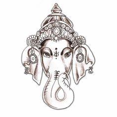 elephant tattoo | hindu hindu elephant god god ganesha tattoo design
