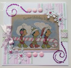 Made By Ria Van Son  From Alota Rubber Stamps!
