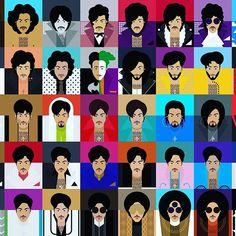 1978 - 2015 © Paisley Park  #themanyfacesofprince #prince #princestagram #fanart #portrait #art #faces #vector #illustration #illustrator #princeandtherevolution #princeandthenewpowergeneration #npg