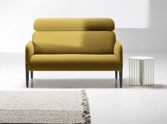 Upholstered high-back fabric sofa Join Collection by La Cividina | design Form Us With Love