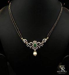Gold Jewelry, Beaded Jewelry, Jewlery, Gold Mangalsutra, Diamond Pendant, Fashion Jewelry, Girly, Pendants, Chain