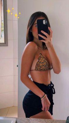 Tan Skin, Daughter, Crop Tops, Beach, Sexy, Swimwear, Summer, Clothes, Photo Ideas
