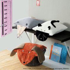 игрушки подушки