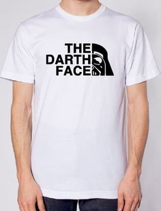 The Darth Face Star Wars IRON ON VINYL ONLY Movie Siser Easyweed jedi t-shirt…
