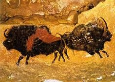 Cave Paintings are paintings on cave walls and ceilings, usually dating to prehistoric times. The earliest known European cave paintings date to years ago. Join us to discover the top twenty most fascinating prehistoric cave paintings. Lascaux Cave Paintings, Paleolithic Art, Stone Age Art, Cave Drawings, Art Ancien, Art Antique, Art Premier, Aboriginal Art, Ancient Art