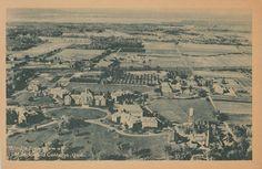 Aerial View Macdonald College STE ANNE DE BELLEVUE Quebec 1930s L.A. Lalonde | eBay