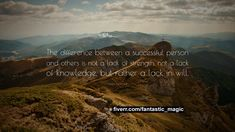 """Vince Lombardi Quote: """"The difference between a successful person and others is not a lack of strength, not a lack of knowledge, but rather a l. Short Inspirational Quotes, Uplifting Quotes, Positive Quotes, Inspiring Quotes, Joseph Campbell Quotes, Thomas Edison Quotes, Vince Lombardi Quotes, Nicholas Sparks Quotes, Plato Quotes"""