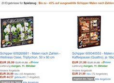 """Amazon: """"Malen nach Zahlen"""" von Schipper für einen Tag reduziert https://www.discountfan.de/artikel/technik_und_haushalt/amazon-malen-nach-zahlen-von-schipper-fuer-einen-tag-reduziert.php Weniger zahlen für """"Malen nach Zahlen"""": Bei Amazon sind nur am heutigen Montag 20 Produkte von Schipper im Preis deutlich reduziert. Die Preise liegen zwischen 17,99 und 26,99 Euro. Amazon: """"Malen nach Zahlen"""" von Schipper für einen Tag reduziert (Bild: Amazon.de"""