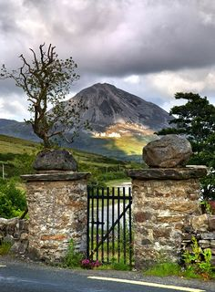Mt Errigal Co Donegal Ireland