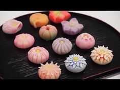 Wagashi (Japanese Confectionery) Wagashi, Japanese confectionery, features designs that reflect the seasons - cherry blossoms in spring, for example, or the ...