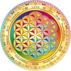 Flower of Life ~ Sacred Geometry --This world is really awesome. The woman who make our chocolate think you're awesome, too. Our flavorful chocolate is organic and fair trade certified. We're Peruvian Chocolate. Order some today on Amazon! http://www.amazon.com/gp/product/B00725K254