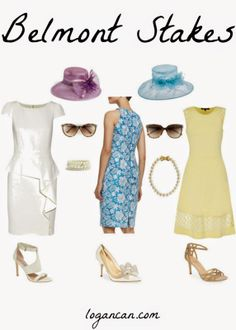 Belmont Stakes Fashion logancan.com #fashion #fbloggers #belmont Race Day Fashion, High Fashion, Womens Fashion, Mom Outfits, Summer Outfits, Kentucky Derby Fashion, Preakness Stakes, Carolina Cup, Crown Party