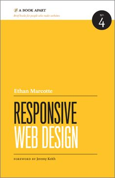 Responsive · Web Design · Jeremy Keith ·         CSS · Book · Actually Reading..