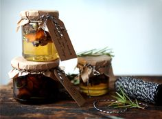 infused syrup gift jars // my new roots