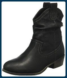 Jane Klain Damen Stiefelette Cowboy Stiefel, Schwarz (000 Black), 40 EU -