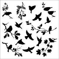 Kliknite, da zaprete sliko, kliknite in povlecite za premik slike. Floral Hoops, Hobby Shop, Silhouette Art, Doodle Art, Stencils, Decoupage, Doodles, Birds, Crafts