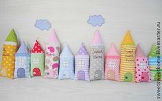 Домики - домик,текстиль для дома,текстильные домики,домики,подвески,декор для интерьера