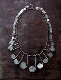 Necklace | Alexander Calder.  Silver wire.  ca. 1940