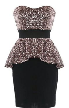 Peplum Panache Dress love this website!