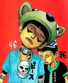 Taiyo Matsumoto, art, illustration,