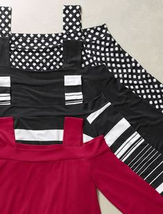 """Love these top for travel, especially on cruises. Another pinner said: """"You asked, we listened. Your top pick is back and better than ever in all-new colors and prints."""""""