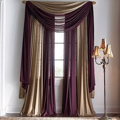 "Image detail for -Chris Madden® Hilton 58Wx38""L Waterfall Valance in Cleveland ..."