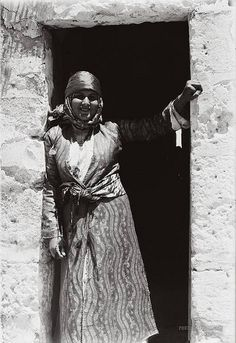 Palestinian girl from Nazareth, Circa 1920's. by salahmahmoud2, via Flickr