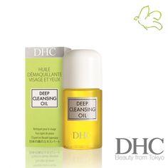 DHC - Huile Démaquillante Pureté Deep Cleansing Oil Tout type de peau. Visage & Yeux. A l'huile d'olive et l'huile essentielle de romarin. Best-seller n°1 de DHC dans le monde, l'Huile Démaquillante Pureté DHC permet un démaquillage parfait du visage et des yeux tout en douceur, en moins d'une minute. Nouveau format mini voyage 30ml - 6,50€ #voyage #travel #mini #huile #demaquiller #dhc #skincare #soin #visage #demaquillage #cosmetiques #naturel www.officina-paris.fr