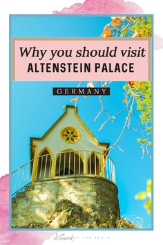 Why you should visit Altenstein Castle in Central Germany. Travel tips, how to get there, what to see and where to eat. #germanytravel #germanyvacation #germanyholiday #germanytour #travelgermany #thuringia #castlesoftheworld #germancastle #castles #traveltips