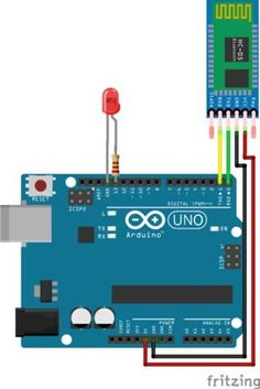 Education: Arduino Bluetooth Basic Tutorial via Hackster.io Getting your Arduino to talk to you is always a great idea — whether you want . Arduino Bluetooth, Arduino Wifi, Esp8266 Wifi, Bluetooth Gadgets, Arduino Programming, Arduino Board, Arduino Sensors, Google Glass, Diy Electronics