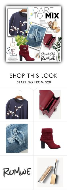 """""""romwe contes"""" by velci-987 ❤ liked on Polyvore featuring Burberry, ASOS and LSA International"""