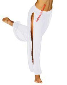 White Harem Pants