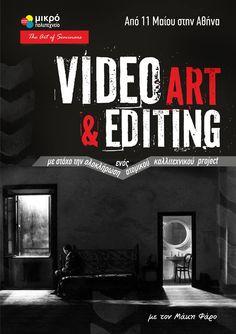 Ένα σεμινάριο Οδηγός για τους λάτρεις του Video Art με τον χαρισματικό καθηγητή της Σχολής Καλών Τεχνών Μάκη Φάρο. Έξι συναντήσεις συνολικής διάρκειας είκοσι ωρών με στόχο κάθε συμμετέχων να ολοκληρώσει ένα Video Art Project που θα φιλοξενηθεί σε ομαδική έκθεση.