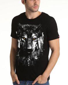 wolf t shirt for men plus size animal black t shirt cotton Wolf T Shirt, Cotton Fabric, Plus Size, Mens Tops, Shirts, 3d, Animal, Black, Fashion