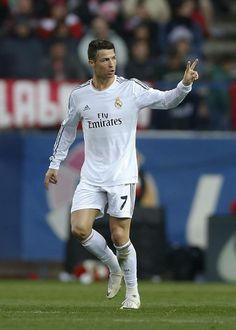 Cristiano; Atletico Madrid 2 Real Madrid 2 (2/3/2014)