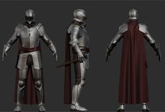 Working on a plate armor. Still have some things to add.