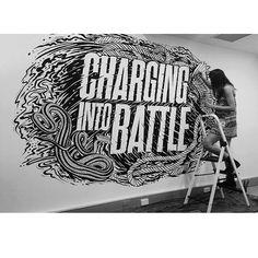 Great artist @mrseaves101 #calligraphy #typography #lettering #writing #drawing #painting #mural #wallart #arteurbano #streetart #graffiti #graphicdesign #contemporaryart