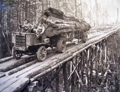 Early Logging in the Northwest.