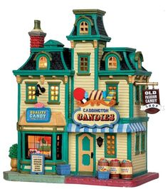 Make 2018 a year to remember with the latest Lemax holiday village collectables. Start a family Christmas tradition with Lemax Village Collection today! Lemax Christmas Village, Santa's Village, Halloween Village, Christmas Town, Christmas Villages, Christmas Tree With Gifts, Christmas Decorations, Old Western Towns, Fun Arts And Crafts