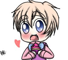 ( Chibi 2p England ) do you want a cupcake?? by Miryam123 on @DeviantArt