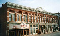Muncie Civic Theatre, Muncie, IN, via Flickr.